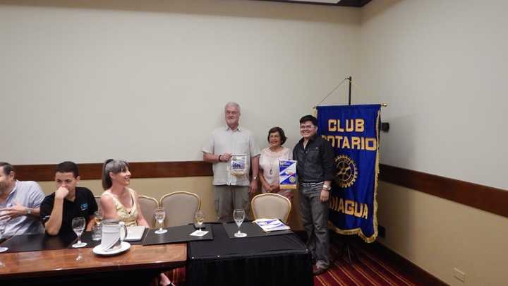 VISIT TO MANAGUA ROTARY CLUB