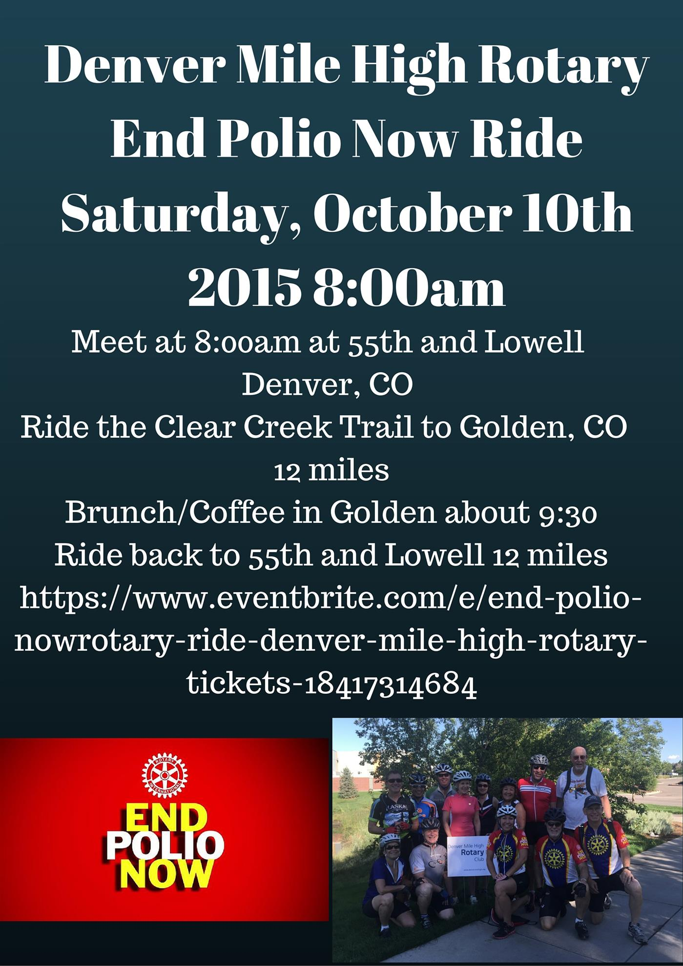 End Polio Bike Ride