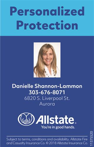 Allstate Insurance- Danielle Shannon Agency