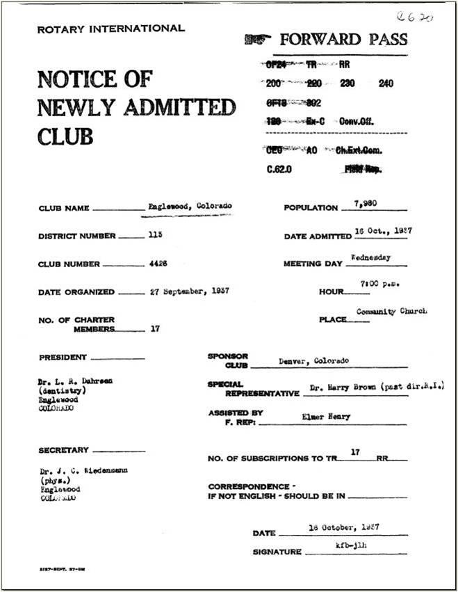 Club Charter