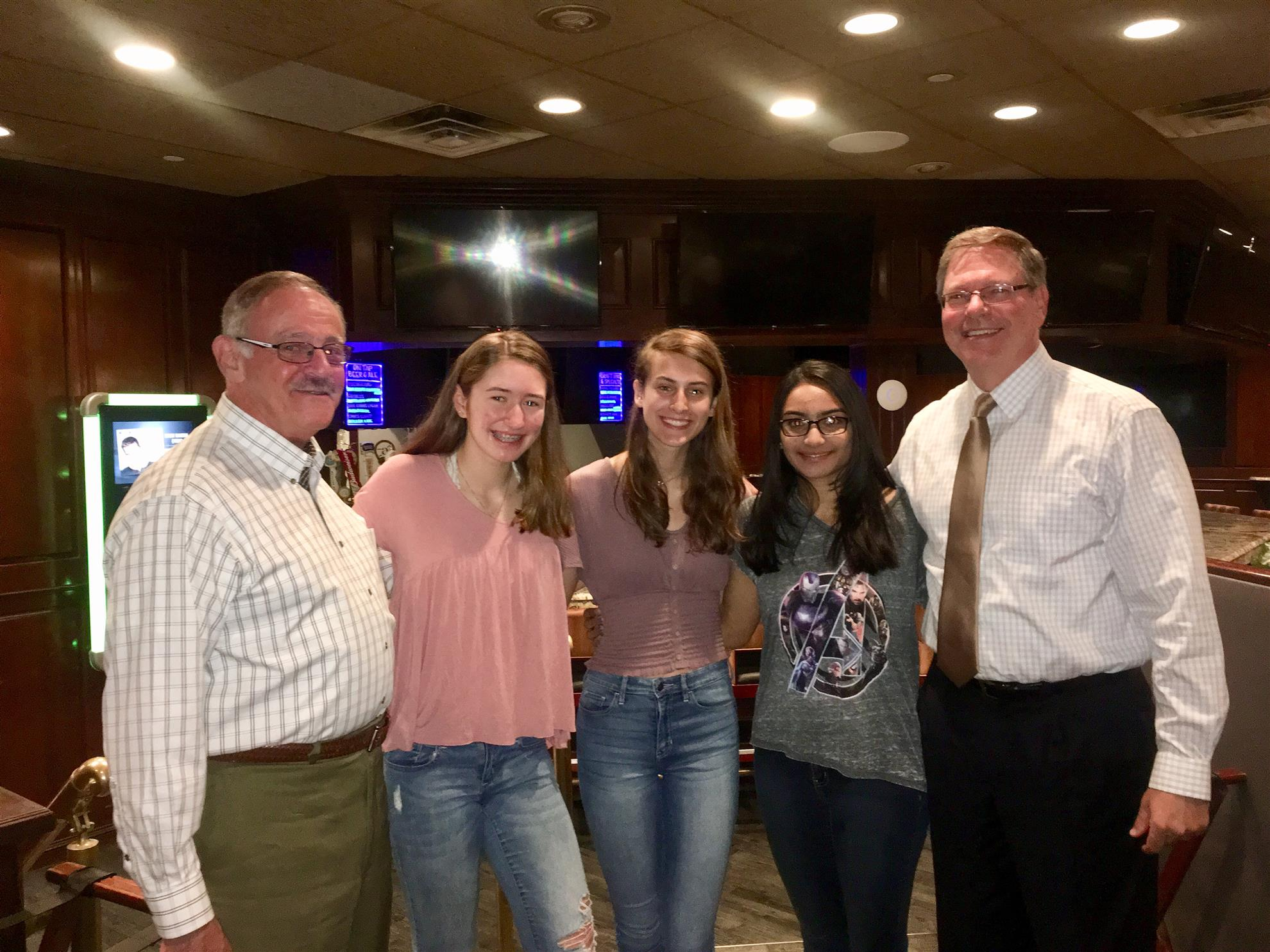 RYLA Students Visit Bordentown Rotary Club