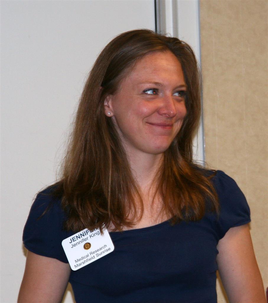New member Jennifer King