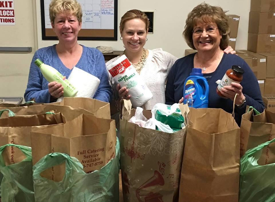 Plainville Community Food Pantry donation
