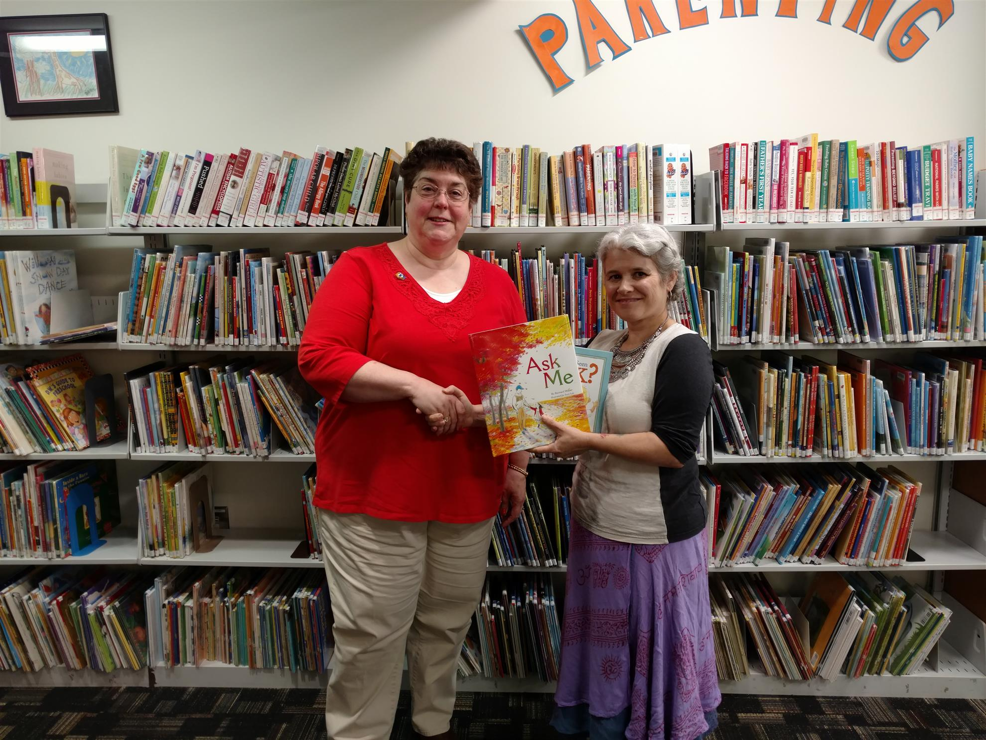 stories rotary club of westbrook gorham the next day the first books signed by marge were donated to the baxter memorial library in gorham westbrook librarian kara reiman was on vacation