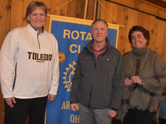 University of Toledo women s basketball coach Tricia Callop (left) told  Archbold Rotarians about one of the most enjoyable coaching experiences of  her ... 2eda2a290