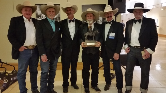 80c5337bf71 Our very own KR Wood recently received the Wrangler Award for the Best  Original Western Composition for the song