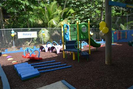 Hand Over of Playground