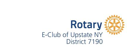Rotary EClub of Upstate NY