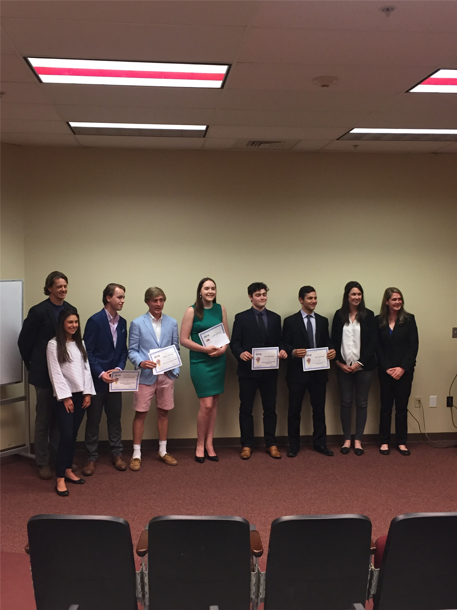 high school student competition awards