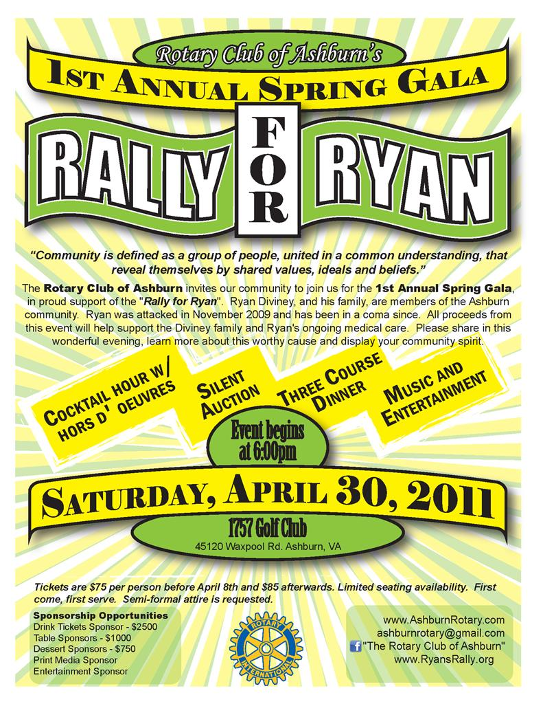 Rally for Ryan