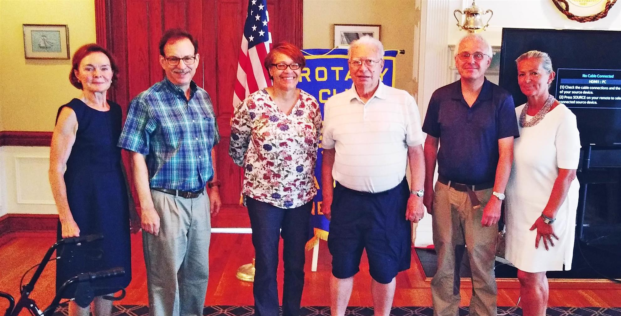 Larchmont Rotary Members at Aug 14th Meeting
