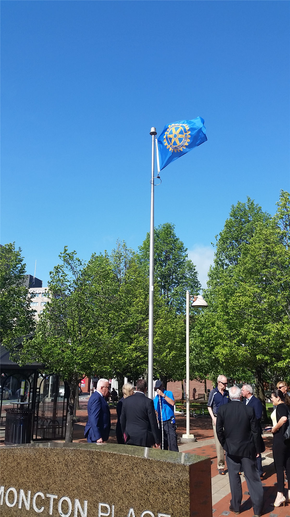 Flag Raising - City of Moncton