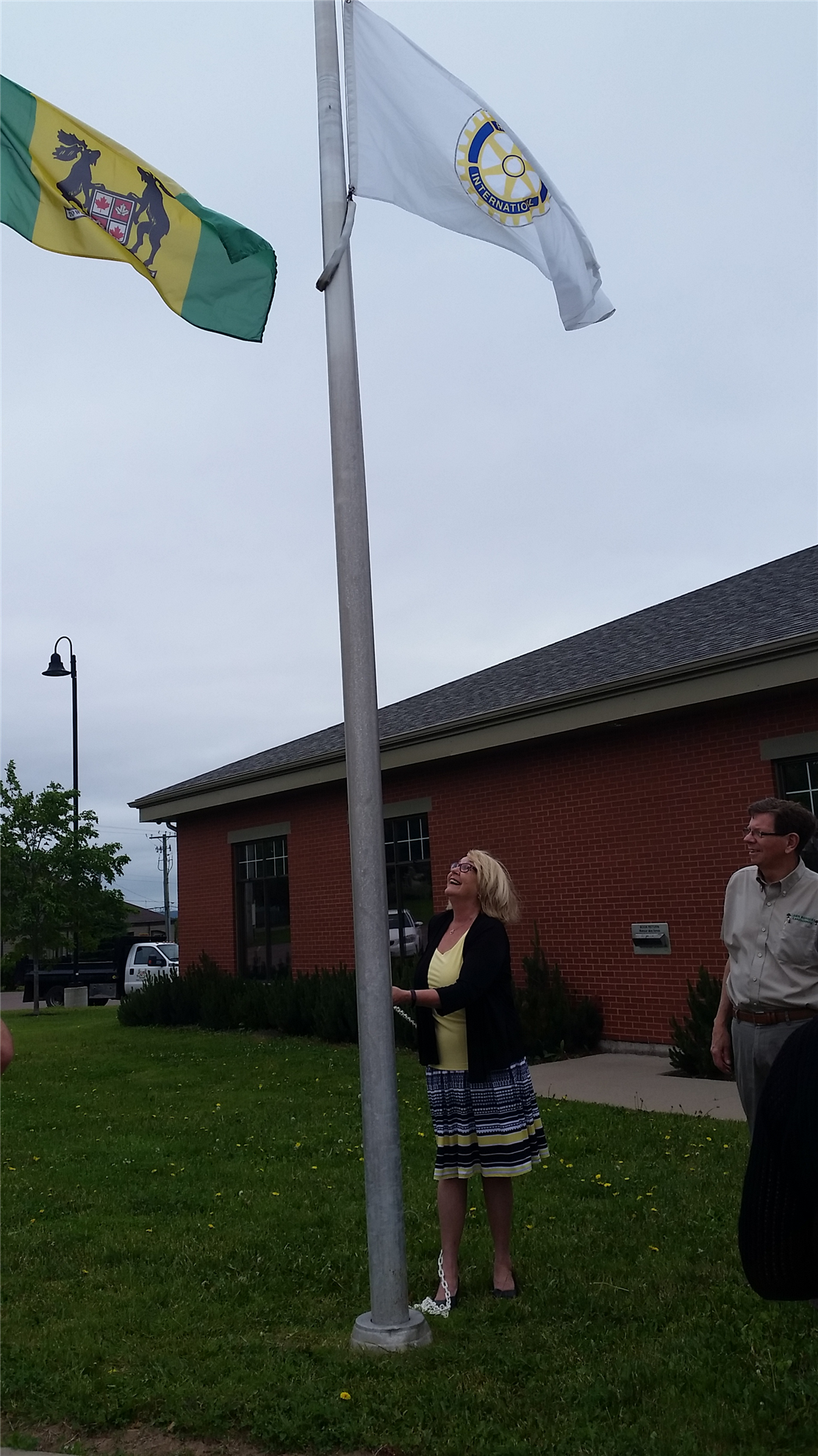 Flag Raising - Town of Riverview