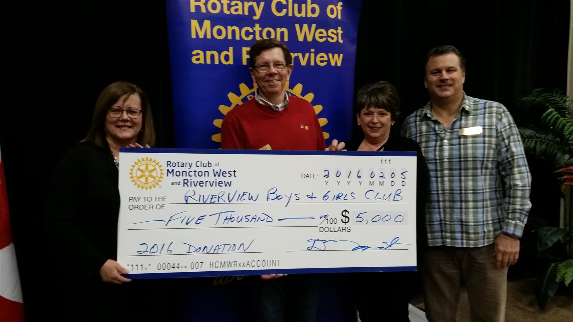 Boys and Girls Club of Riverview support
