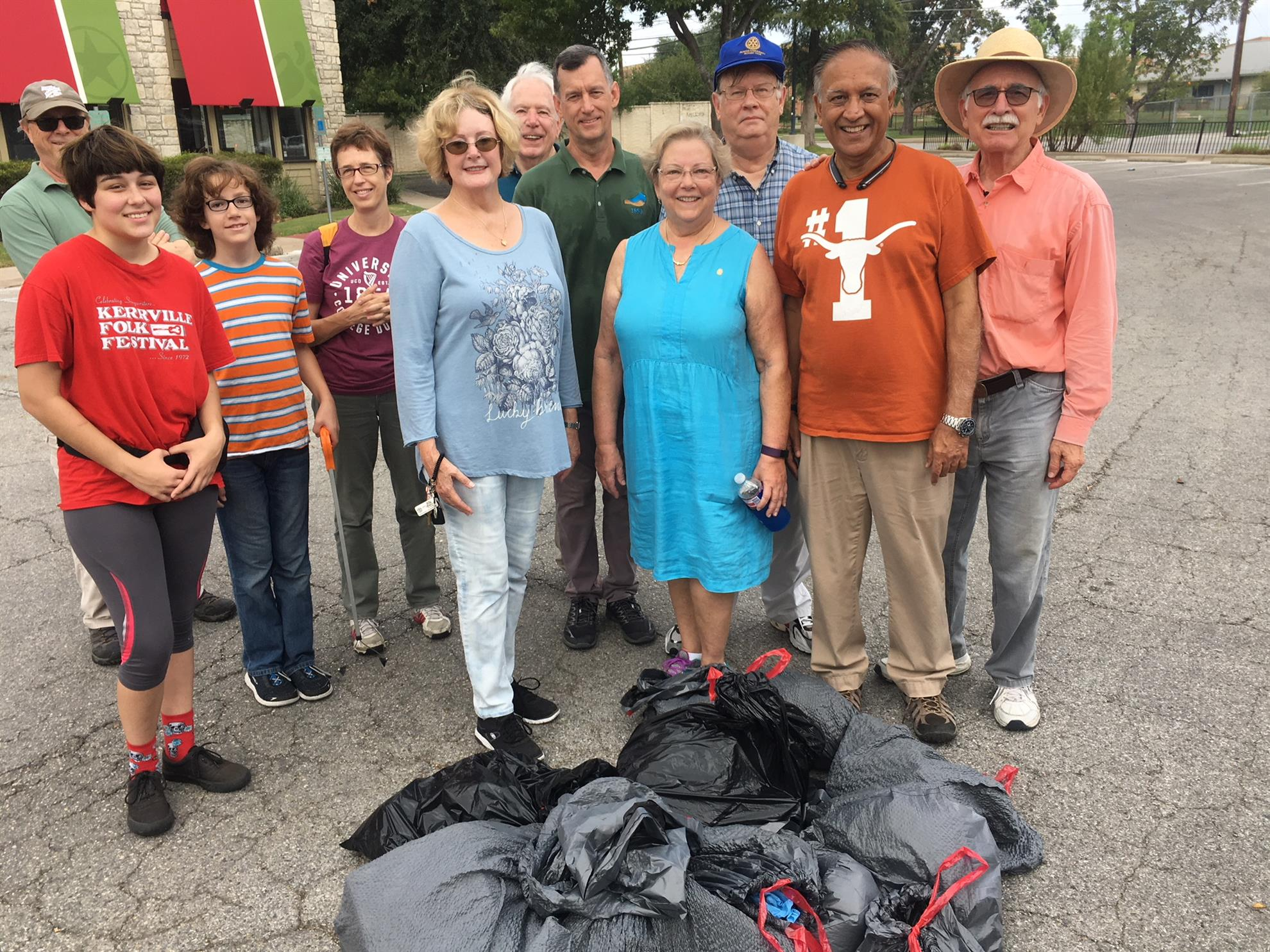 Austin University Area Rotary Keeping Austin Beautiful