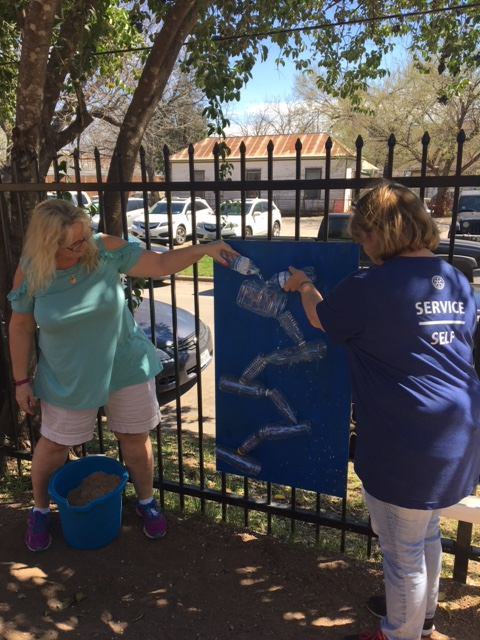 Women in Rotary Service Project at Todos Juntos