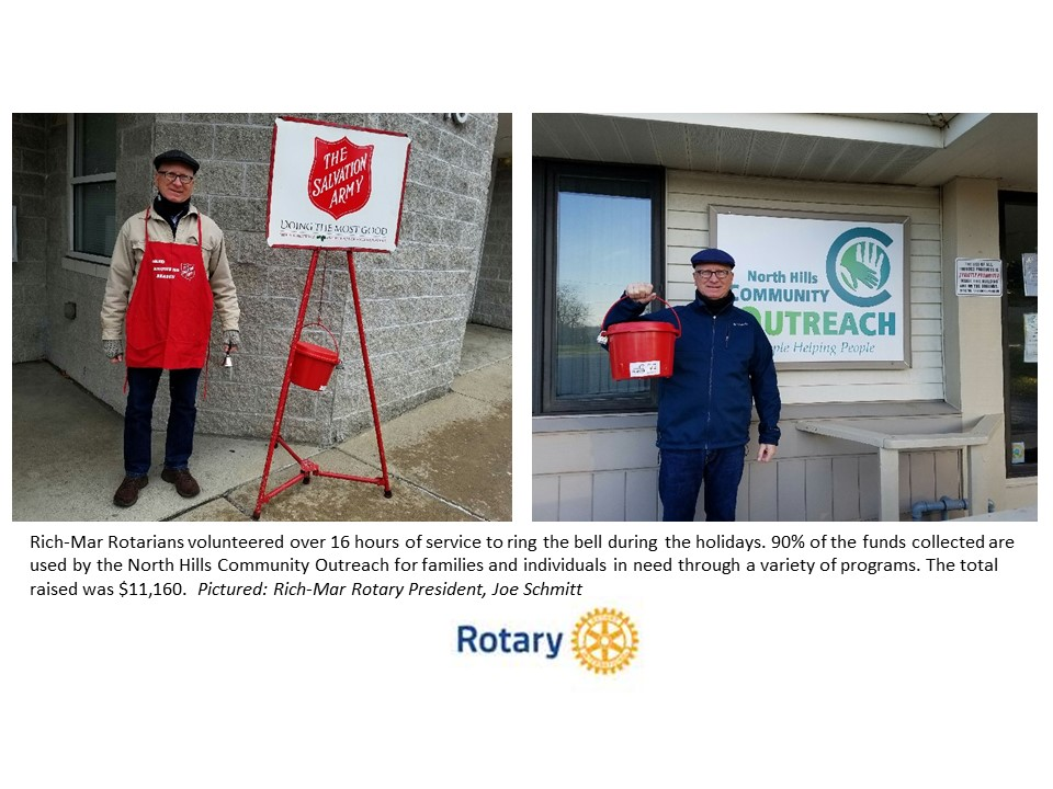 Rich-Mar Rotarians support North Hills Community Outreach | Rotary