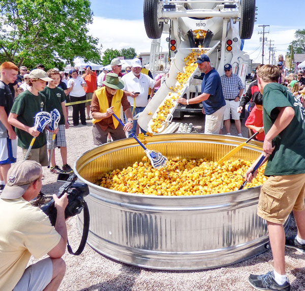 Rotary and Ducky Derby Mix it up after heavy rains