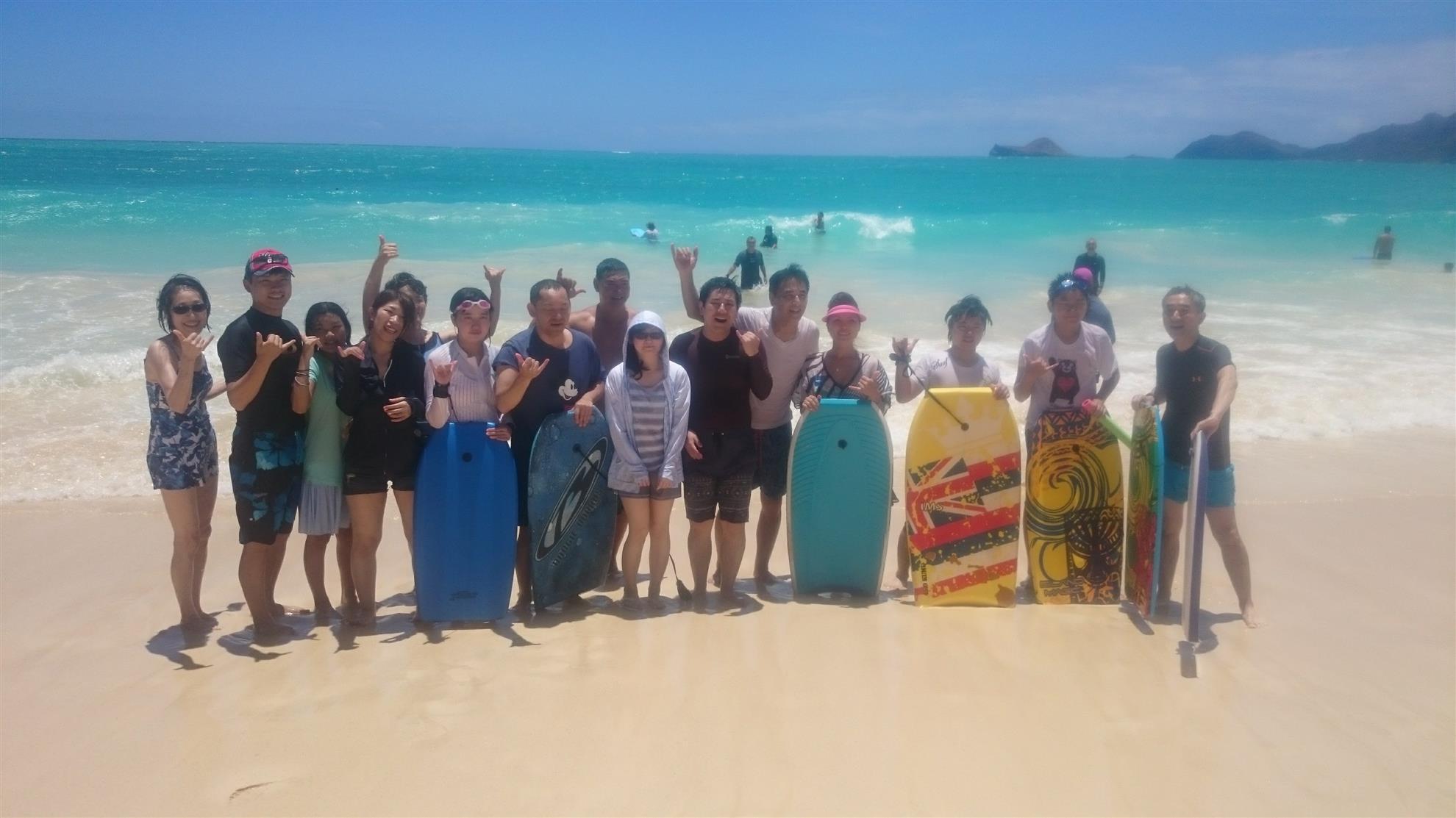 Japan Blind School and Atago Rotary visit Honolulu Sunrise