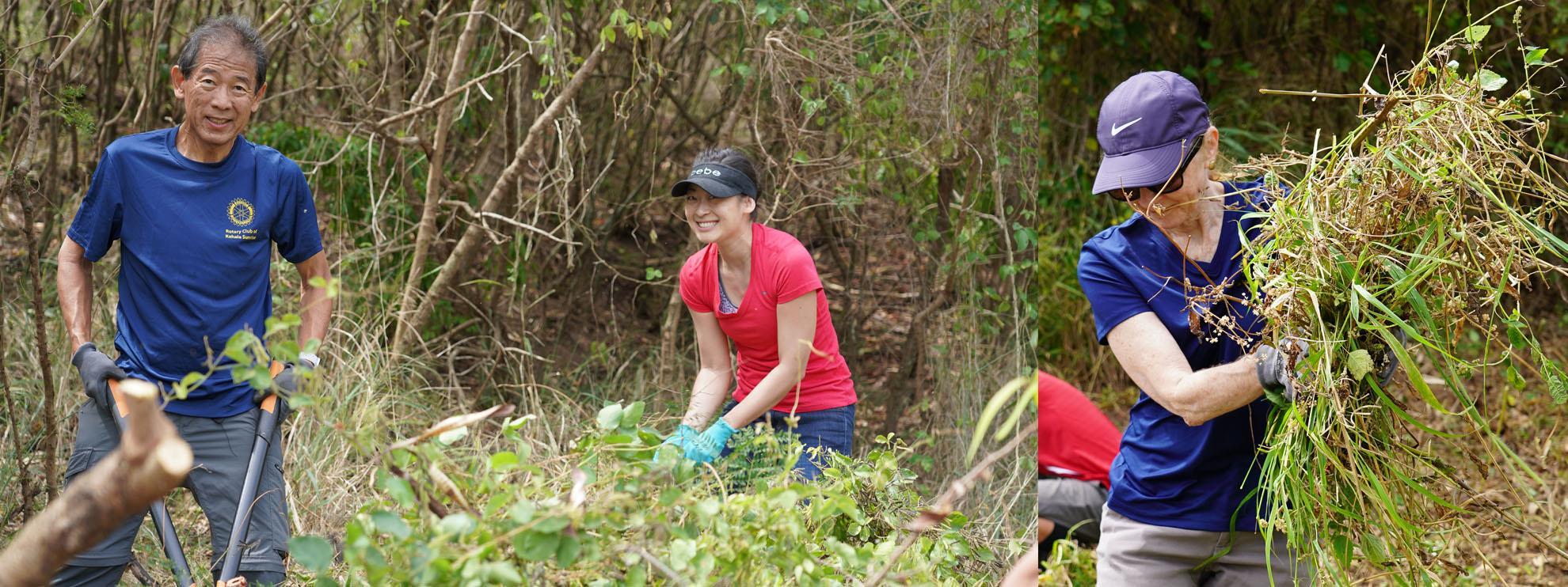Hamakua Marsh Clean-Up
