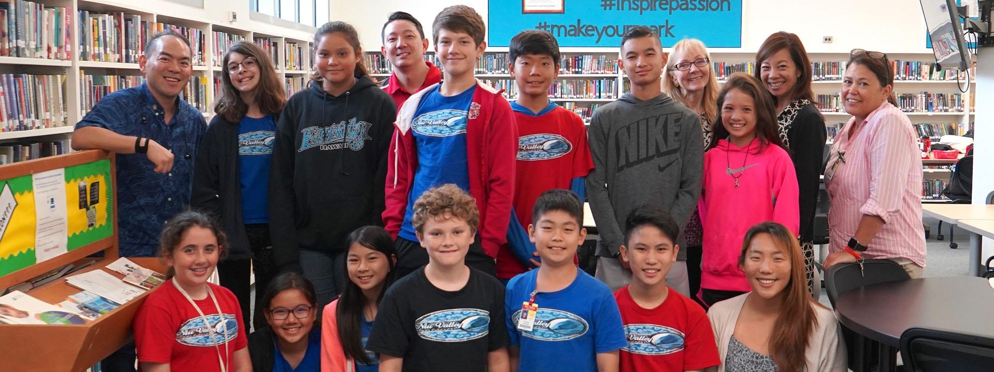 Niu Valley MS EarlyAct Club