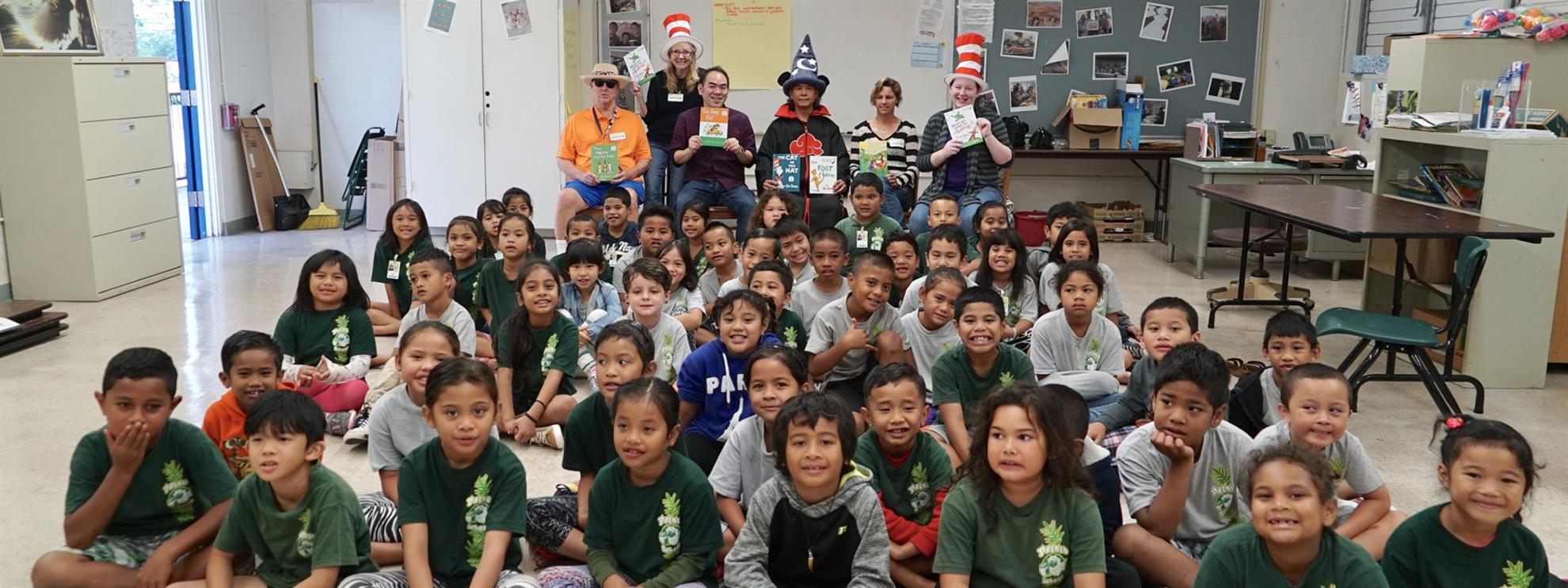 Palolo Elementary Dr. Seuss Reading Project