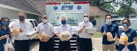 Lunch for EMS Workers