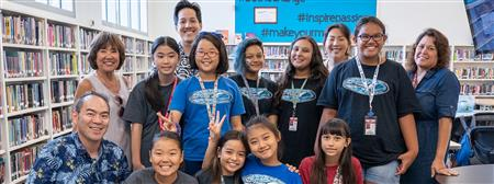 Niu Valley Middle School Early Act Club