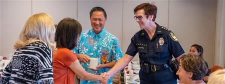 Meeting with HPD Chief Susan Ballard