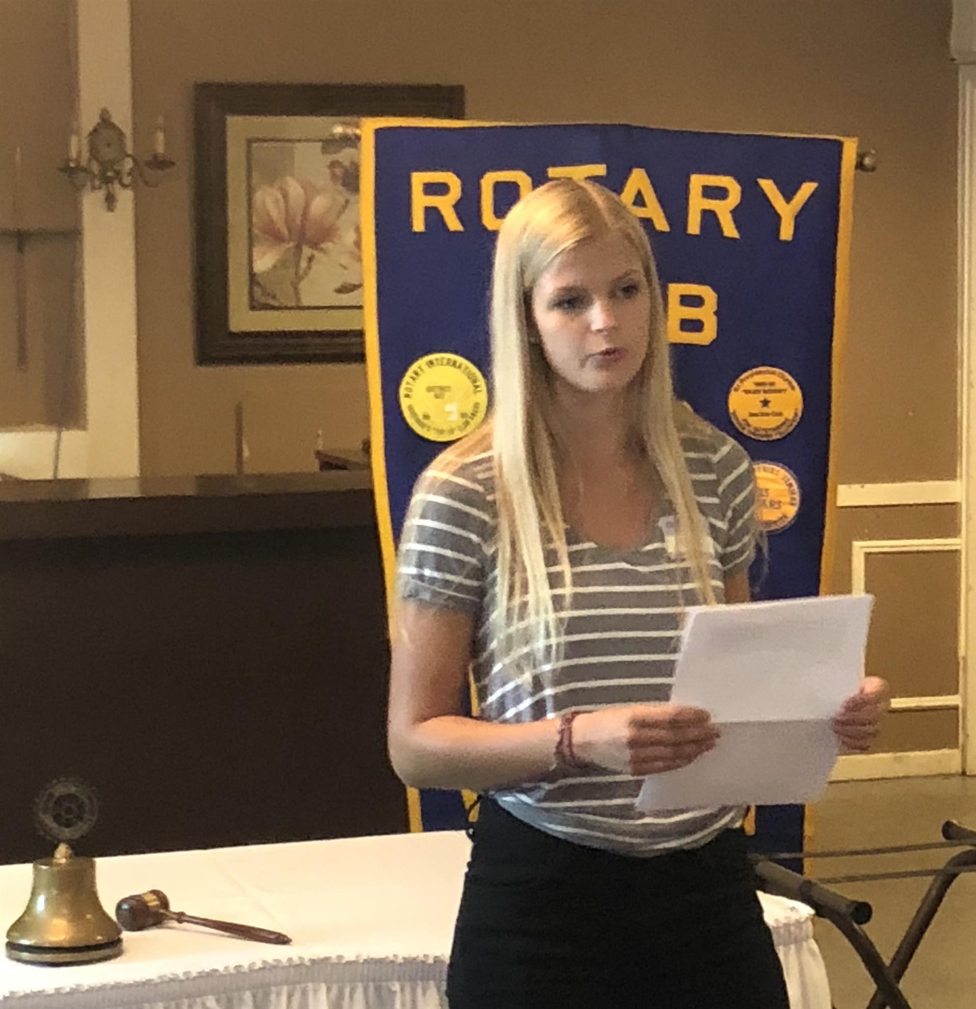 Stories | Rotary Club of Whitnall Park