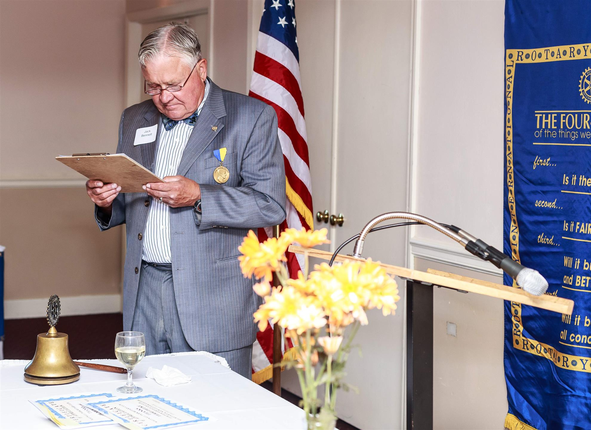 WPRC Changing of the Guard June 2016 | Rotary Club of