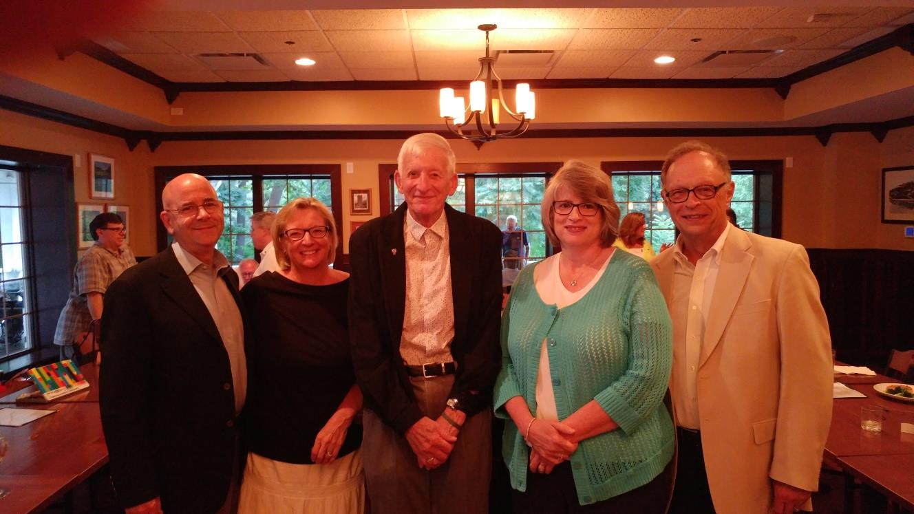 Ralph Boston & Family - 40 yrs in Rotary