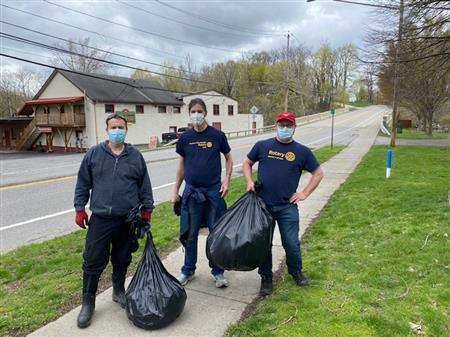 Helper Brian, Drew and Chip