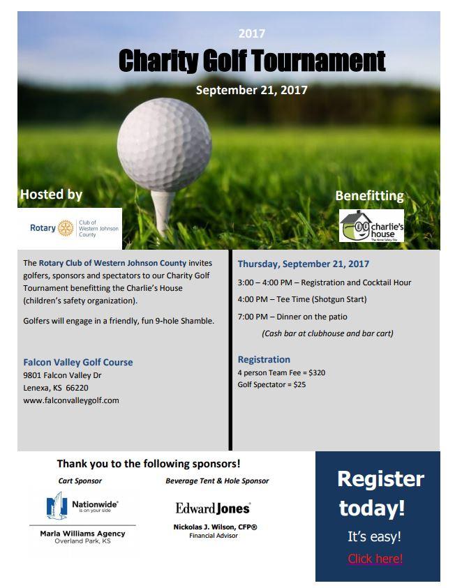 2017 HP Charity Golf Fundraiser | Western Johnson County