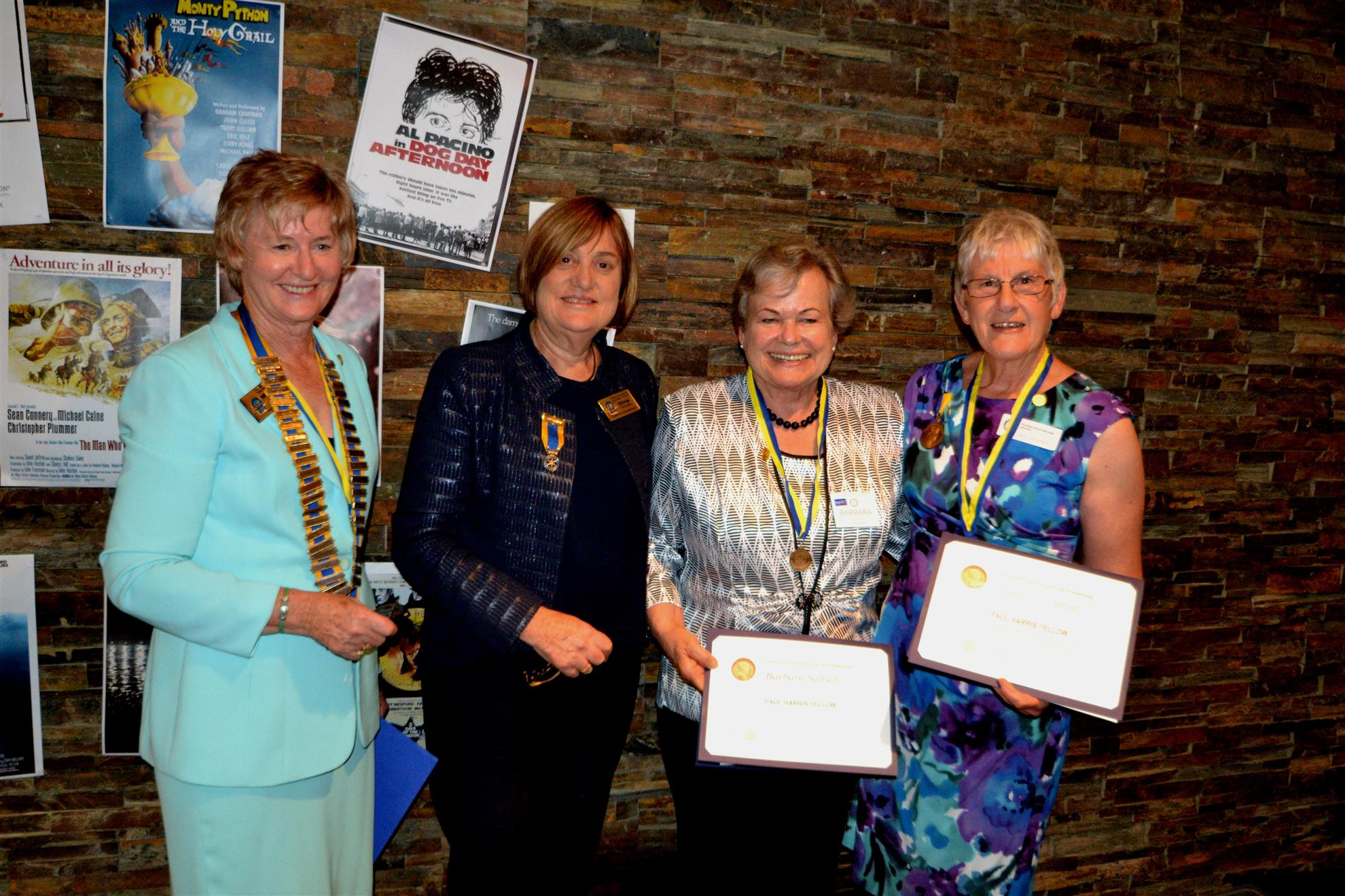 Barbara and Judi PHF Awarded 40th Anniversary Dinner