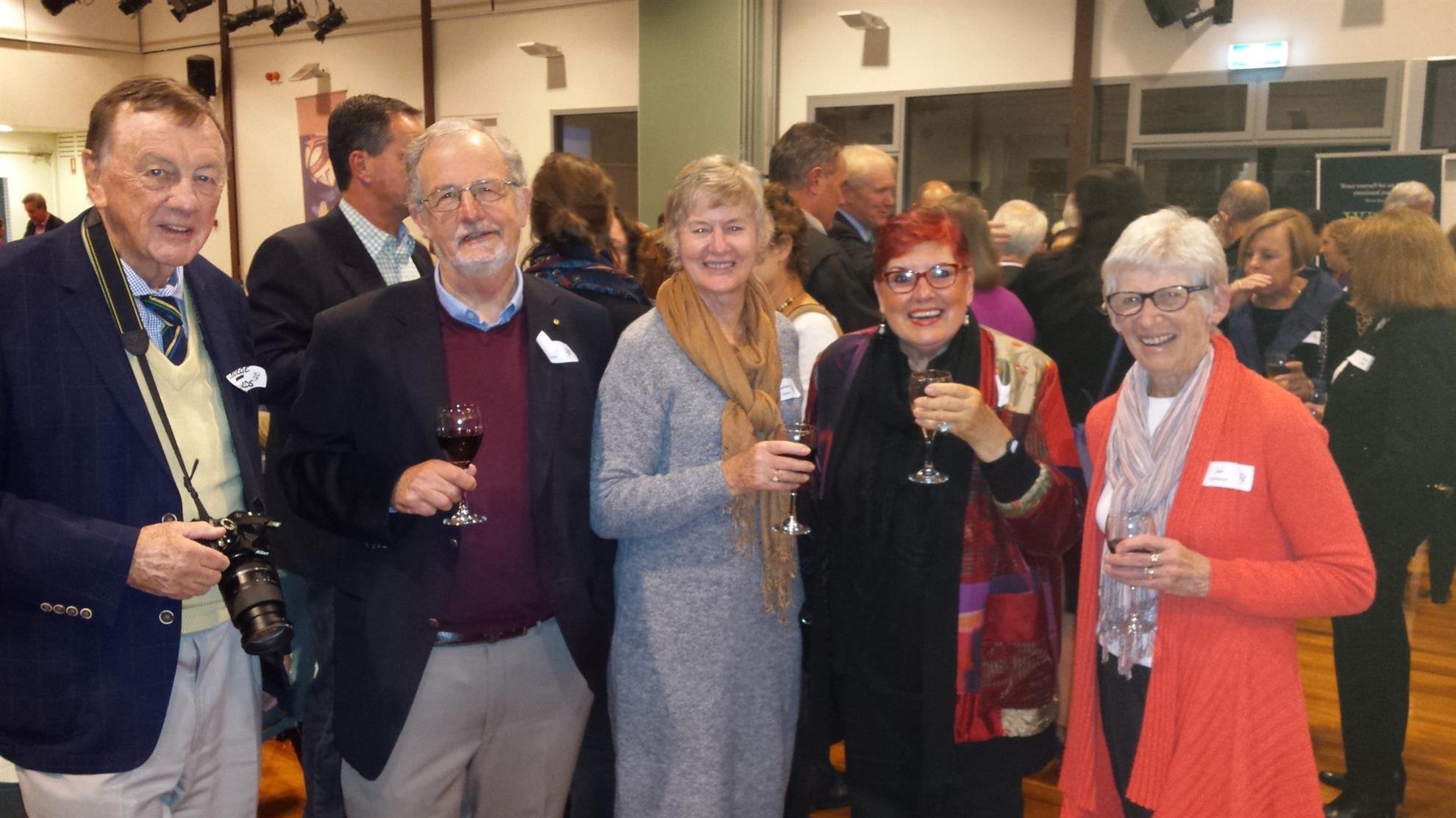 Club Members at Jo's book launch