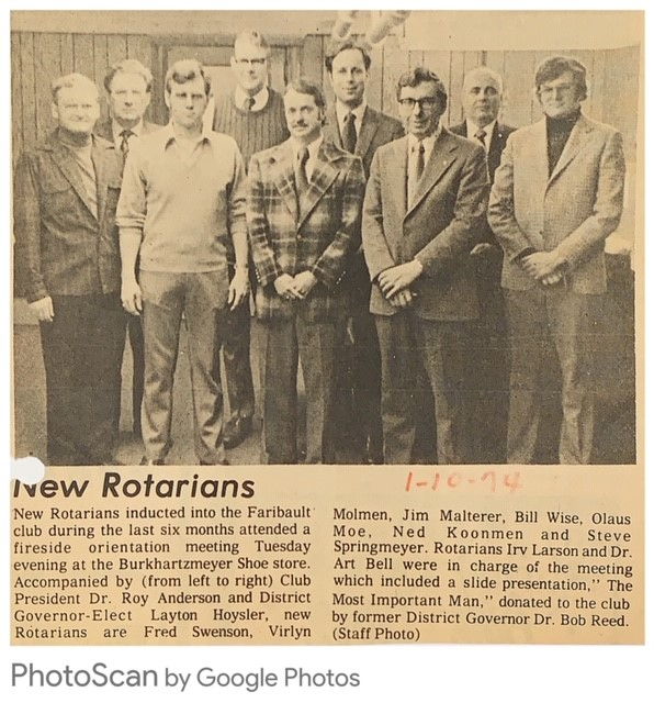 e1550dbf03b Stories | Rotary Club of Faribault