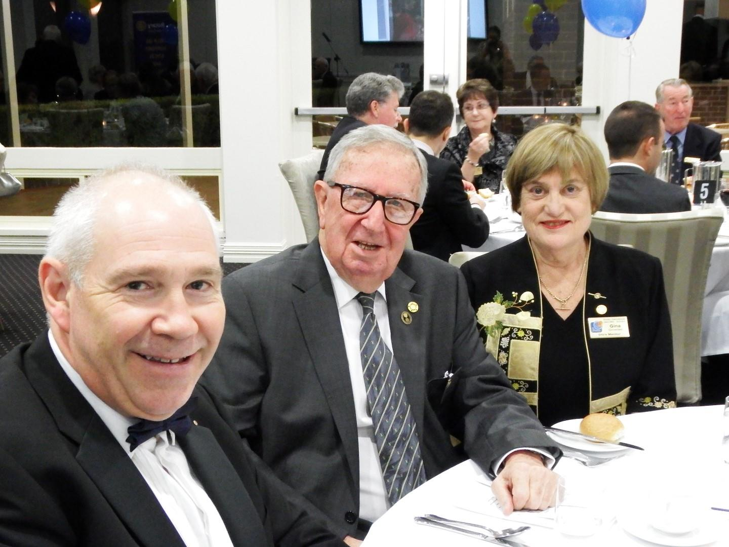 ab9e4dafb7a Official guests included PDG Gina Growden, and PDG Harold Sharp, Assistant  Governor Ward Pollard from Mosman Rotary and Joycelyn.