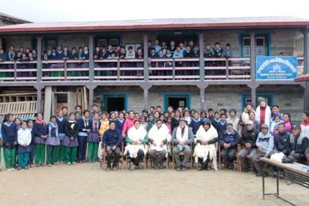 New School Opening, Bhakanje, Nepal