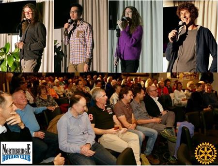 Comedy Evening Raises Funds for Streetwork Helping Local Community at Risk Youth - $3,700