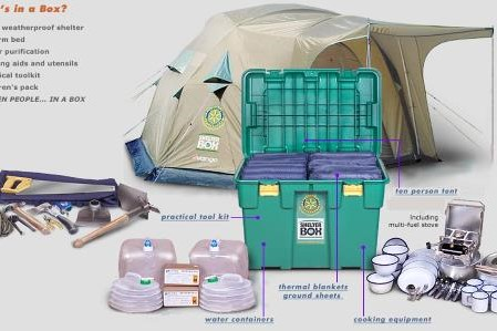 Disaster Relief - 11 Years supporting ShelterBox
