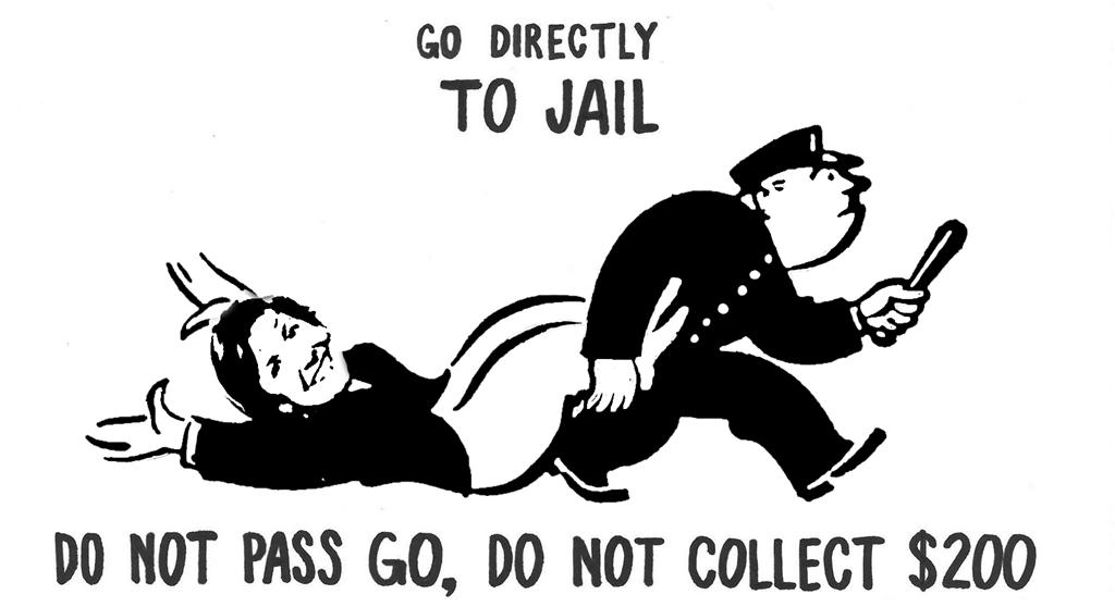 GO DIRECTLY TO JAIL
