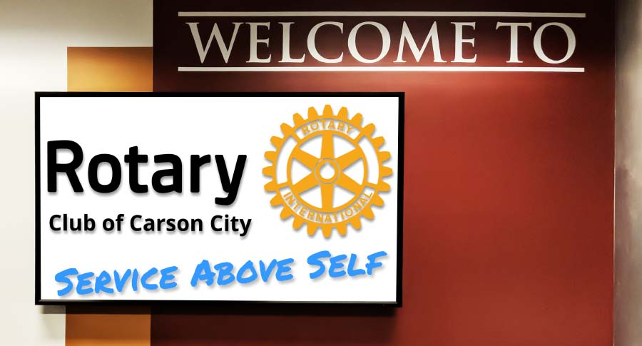 Welcome to Carson Rotary