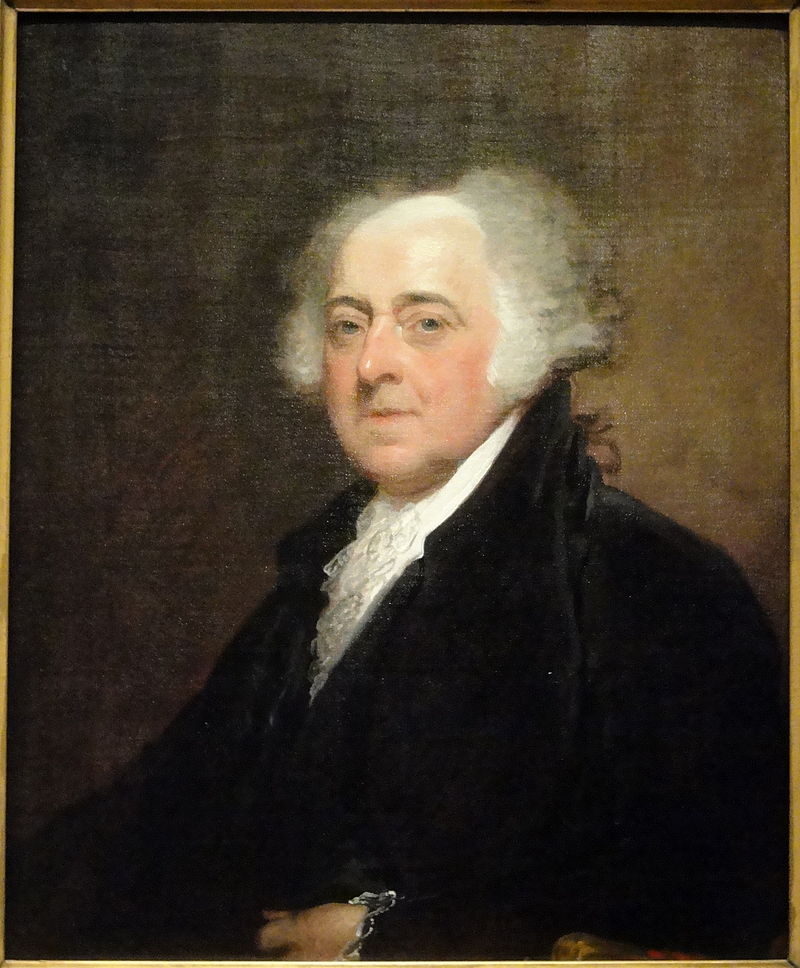 Retrato de John Adams. John Adams Gilbert Stuart, 1815