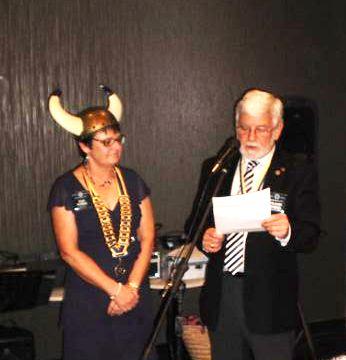 President Sue Kirke & AG Frank Wheel