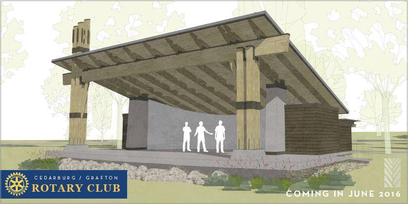 Band Shell Design Drawings | Rotary Club of Cedarburg-Grafton
