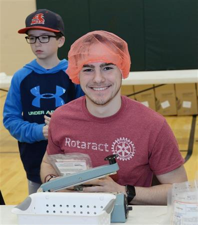 Millsajps Rotaract Volunteer