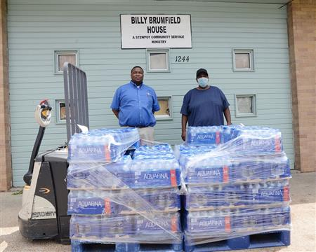 Bottled Water Donation