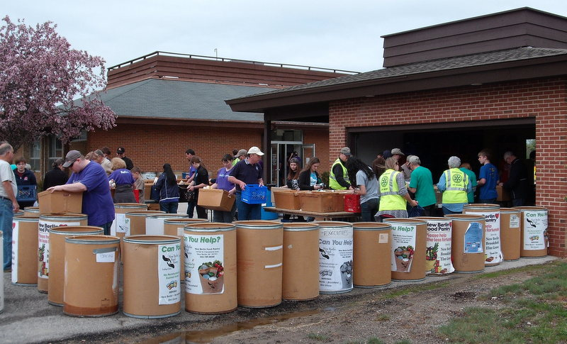 New Berlin Food Pantry, Rotary Club of New Berlin, New Berlin Rotary