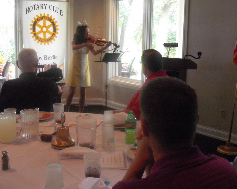 Ashley Rewolinski, Rotary Club of New Berlin, New Berlin Rotary